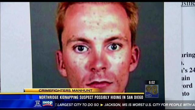 6AM UPDATE | L.A. kidnapping suspect may be hiding out in San Diego