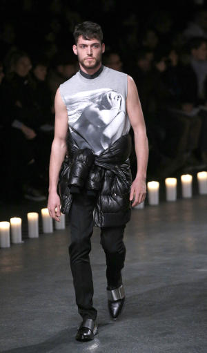 Givenchy makes menswear combatorial
