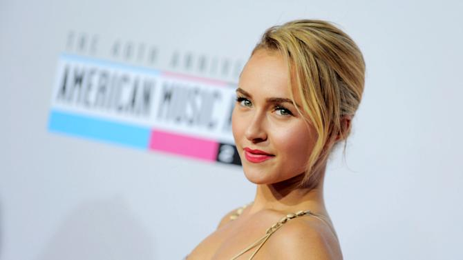"FILE - This Nov. 18, 2012 file photo shows actress Hayden Panettiere, star of the ABC series ""Nashville"" at the 40th Anniversary American Music Awards in Los Angeles. The music of ""Nashville"" has been as much a star on the hourlong ABC drama as Panettiere, Connie Britton, Charles Esten, Jonathan Jackson, Clare Bowen and Sam Palladio. Yes, each really does sing his or her own part, and so far fans seem to be responding, buying more than 800,000 digital singles. (Photo by Jordan Strauss/Invision/AP, file)"