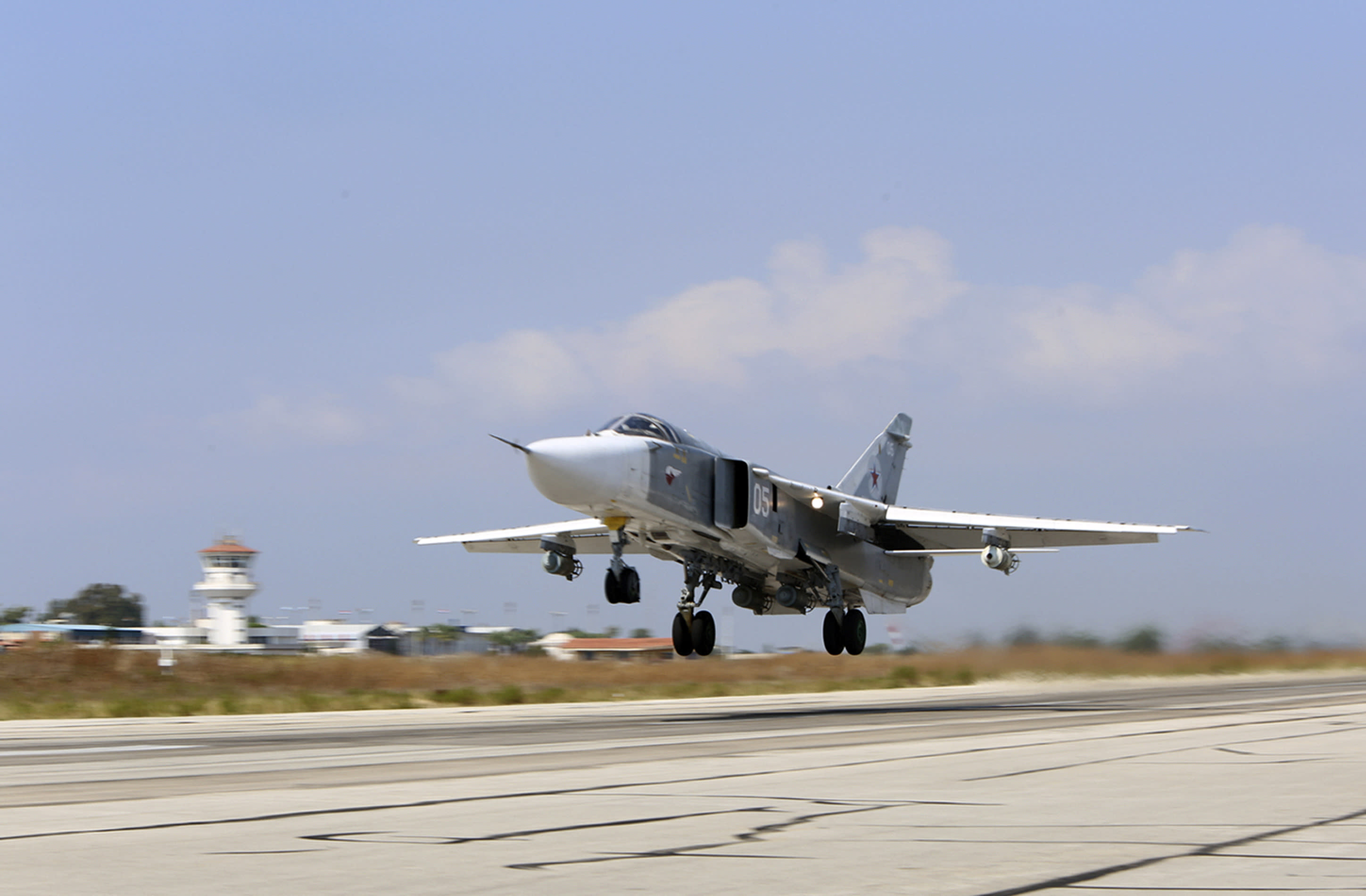 Syria's skies crowded with multiple air forces
