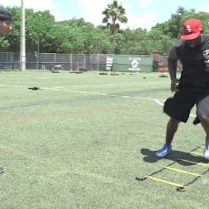 NFL Up!: The Skier Drill