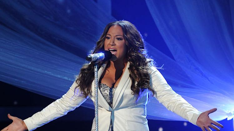 "Melanie Amaro performs ""Listen"" by Beyoncé on ""The X Factor."""