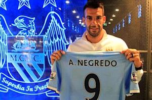Manchester City confirms Negredo signing