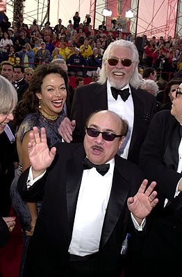 Danny DeVito and James Coburn and wife 73rd Academy Awards Los Angeles, CA  3/25/2001