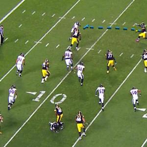 TNF Storylines: Great blocking on Bell touchdown