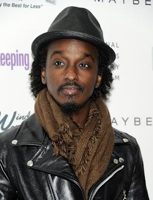 "FILE - In this April 12, 2011 file photo, musician K'Naan attends Good Housekeeping's ""Shine On"" Women Making History theatrical event at Radio City Music Hall in New York. K'Naan is upset that Mitt Romney used his song ""Wavin' Flag"" during his speech Tuesday night, and the rapper is seeking legal action as a result. (AP Photo/Evan Agostini, file)"