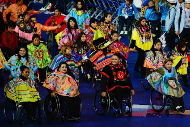 La ceremonia de apertura de los Juegos Paralmpicos de Londres 2012. (MEXSPORT)