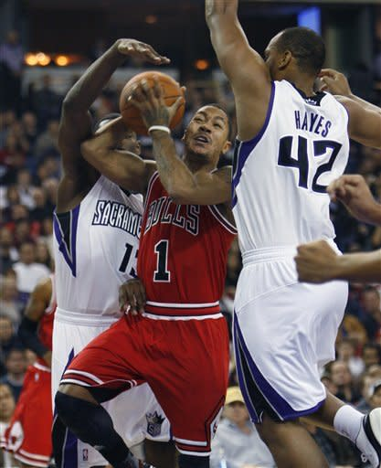 Bulls use fast start for 108-98 win over Kings