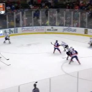 Thomas Greiss Save on Frans Nielsen (16:13/2nd)