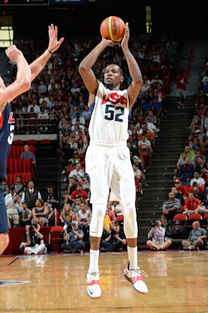 As Durant steps back, US team is moving forward