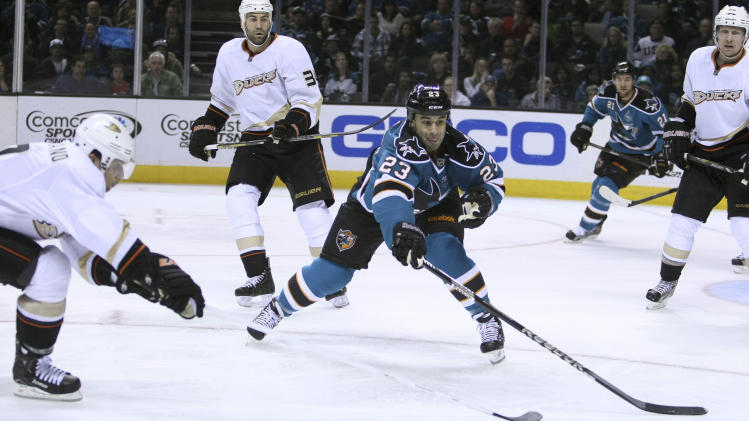 NHL: Anaheim Ducks at San Jose Sharks