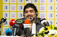 Diego Maradona: I'm staying at Al Wasl, even without reinforcements