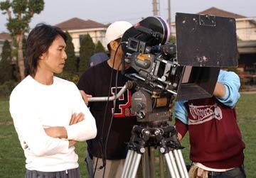 Director Stephen Chow filming Sony Pictures Classics' Kung Fu Hustle