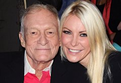 Hugh Hefner and Crystal Harris | Photo Credits: David Livingston/Getty Images