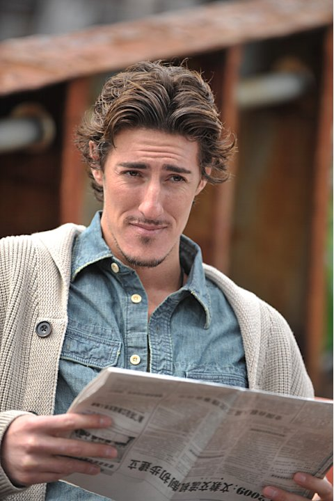 "Eric Balfour as Duke Crocker in""Haven."""