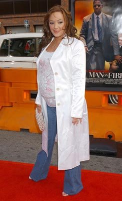 Leah Remini at the LA premiere of 20th Century Fox's Man on Fire