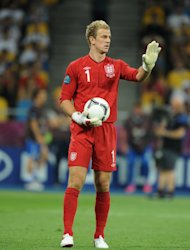 Joe Hart, pictured, and Daniel Sturridge have pulled out of the England squad
