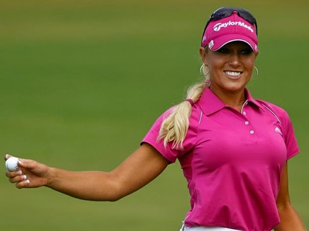 LPGA golfer Natalie Gulbis — Getty Images
