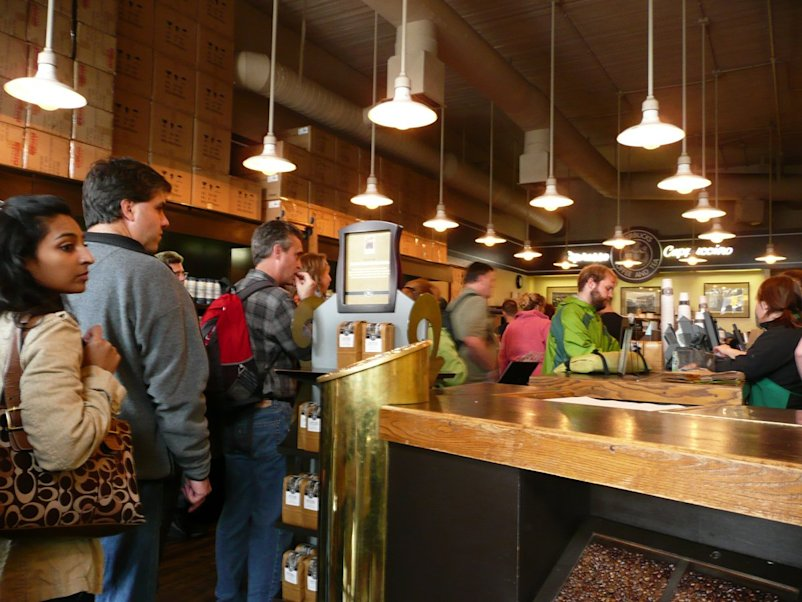 Original Starbucks location in Seattle