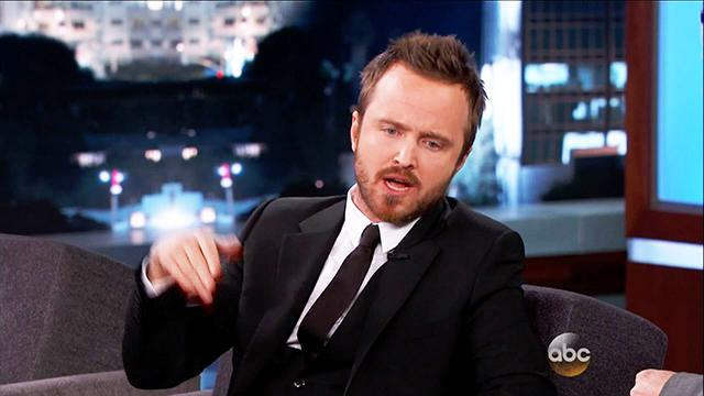 Aaron Paul's Wild Night with Michael Jackson