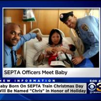 Cops Who Delivered Baby On SEPTA Train Meet The Child