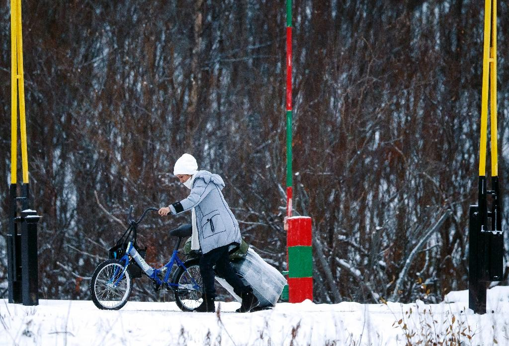 Freedom is a bike, for migrants crossing Arctic border