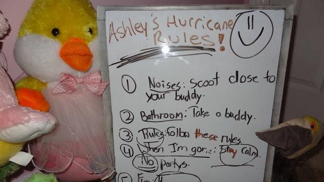Little Girl's Adorable Rules for Stuffed Animals During Isaac