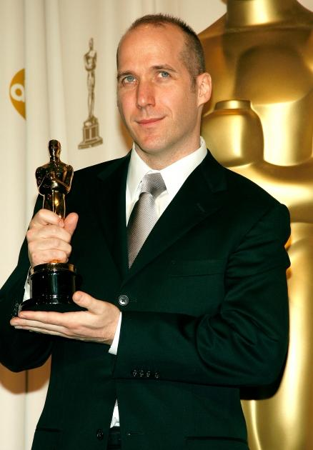 Winner of Best Writing, Screenplay Written Directly for the Screen for 'Little Miss Sunshine' Michael Arndt poses in the press room during the 79th Annual Academy Awards at the Kodak Theatre on February 25, 2007 -- Getty Images