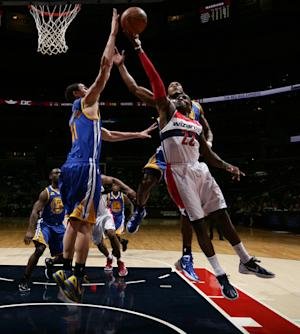 Ellis scores 25 in Warriors' blowout 120-100 win