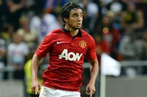 Manchester United right back Rafael denies exit claims