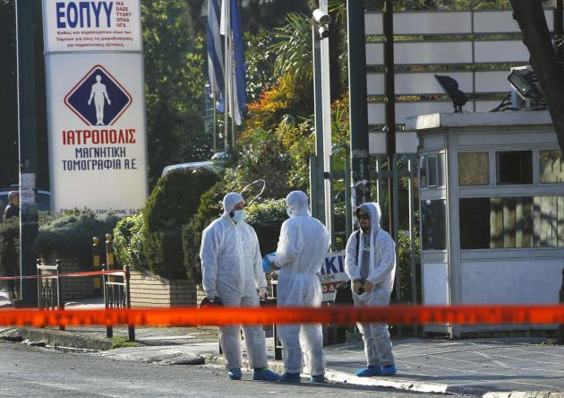 Forensic experts conclude search outside German Ambassador Dold's residence, following an attack in Athens suburb