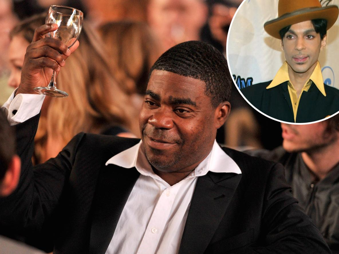Tracy Morgan remembers the time he got thrown out of a party at Prince's house