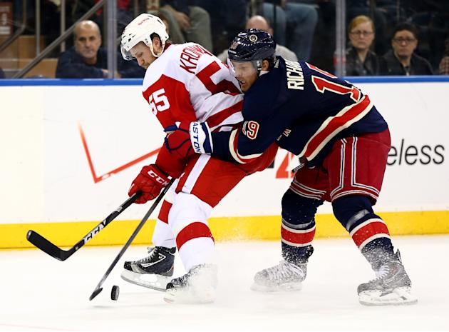 Detroit Red Wings v New York Rangers