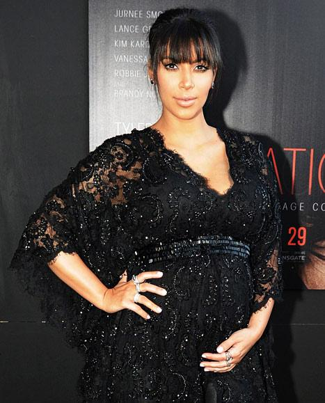Kim Kardashian Talks Baby Names, Pregnancy Cravings and Weight Gain