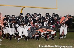 Atlantic Coast High School Stingrays Football.