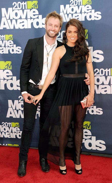 2011 MTV Movie Awards Nikki Reed Paul McDonald