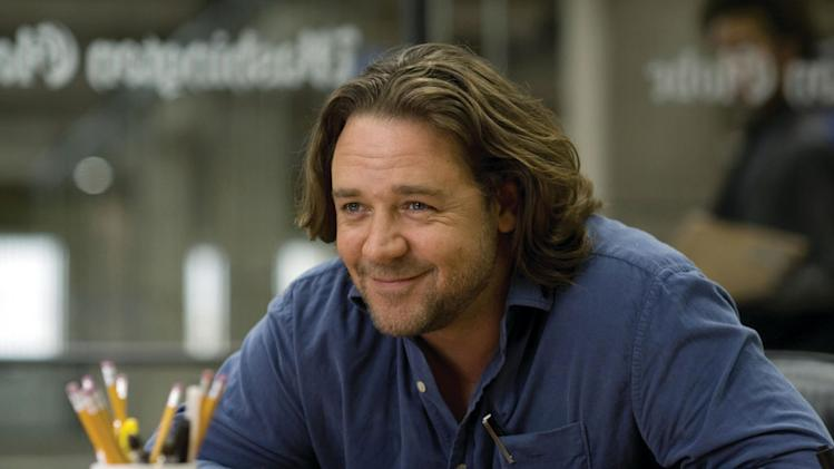 Russell Crowe State of Play Production Stills Universal 2009