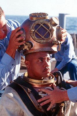 Cuba Gooding Jr. as Carl Brashear in 20th Century Fox's Men of Honor