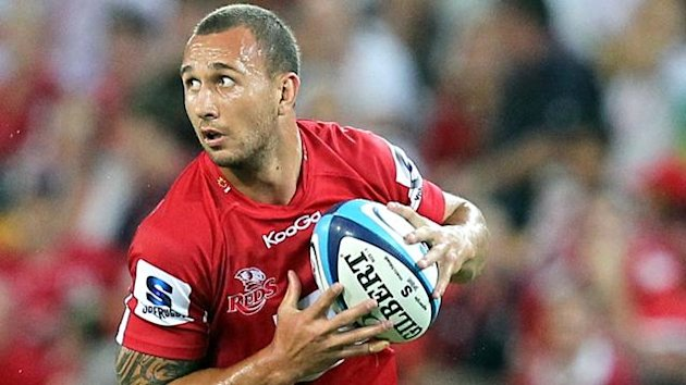 Quade Cooper of the Queensland Reds