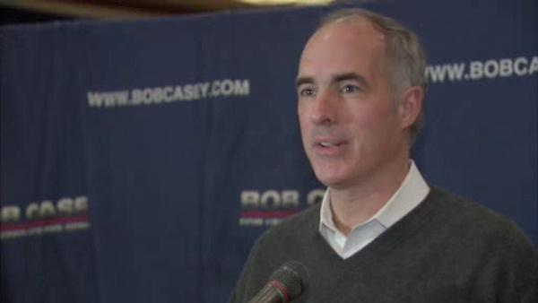 Pa. Democrat Casey wins re-election to US Senate