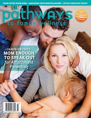 The cover of Pathways magazine that Jamie Lynne Grument posed for. (Pathways to Family Wellness) 
