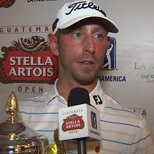Danny Balin interview after winning the Guatemala Stella Artois Open