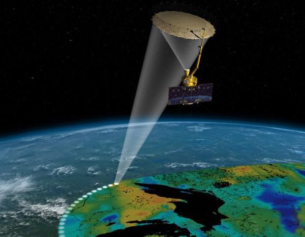 NASA launches satellite to measure soil moisture