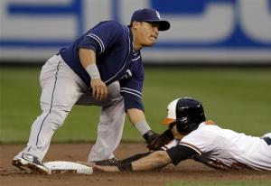 Padres rally to beat Johnson, Orioles 3-2