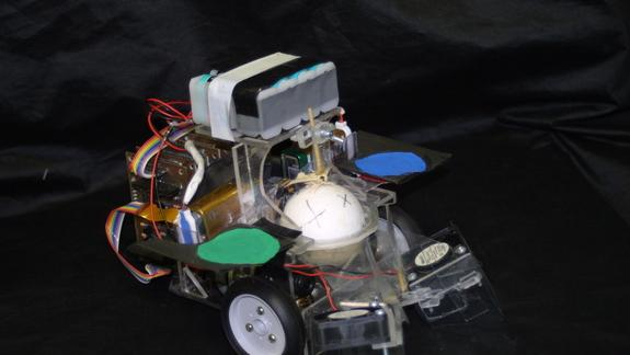 Insect Drives Tiny Robot Toward Seductive Smells