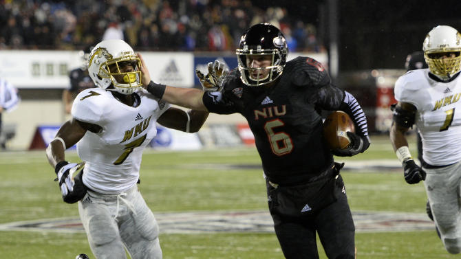 NCAA Football: Western Michigan at Northern Illinois