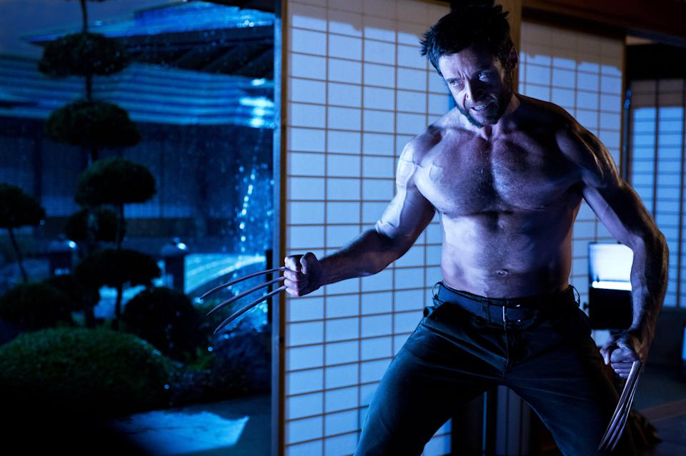 "This publicity photo released by Twentieth Century Fox shows Hugh Jackman as Logan/Wolverine in a scene from the film, ""The Wolverine."" (AP Photo/Twentieth Century Fox, Ben Rothstein)"