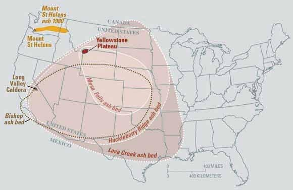Yellowstone Supervolcano May Have Had More Eruptions Than Thought