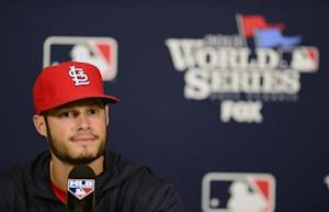 MLB: World Series-St. Louis Cardinals Workout