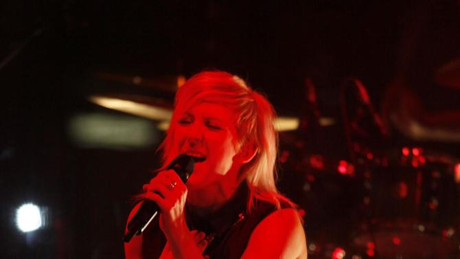 Ellie Goulding performs at the O2 Academy in Bristol on Friday, Dec. 7, 2012. (Photo by Jim Ross/Invision/AP)